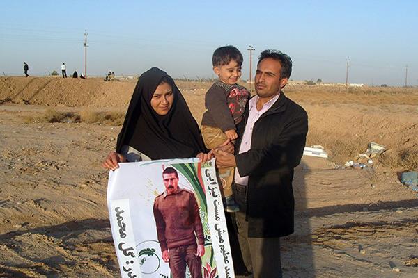 درخواست همسر یکی از جدا شده های فرقه رجوی برای بازگشت شوهرش به ایران