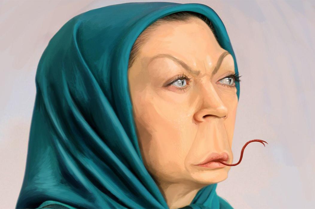 شیفتگی قدرت مریم رجوی و تلاش برای تحریم