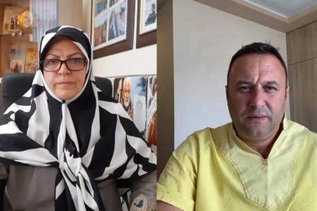 مادر چشم انتظار یکی از اسیران فرقه رجوی در گفت و گو با دکتر اولسی یازیچی، خبرنگار مستقل در آلبانی: دولت آلبانی موظف است مکانی را برای ملاقات خانواده های اسیران فرقه رجوی با عزیزان خود آماده کند / اعضای فرقه رجوی به زودی خواهند فهمید که سال ها به آنها دروغ گفته شده است